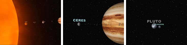 Ceres, Charon and Xena UB313 could be eligible as solar system's new planets
