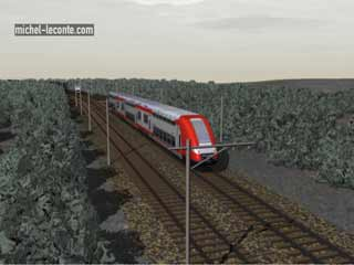 accident de Zoufftgen en lorraine, collision de trains